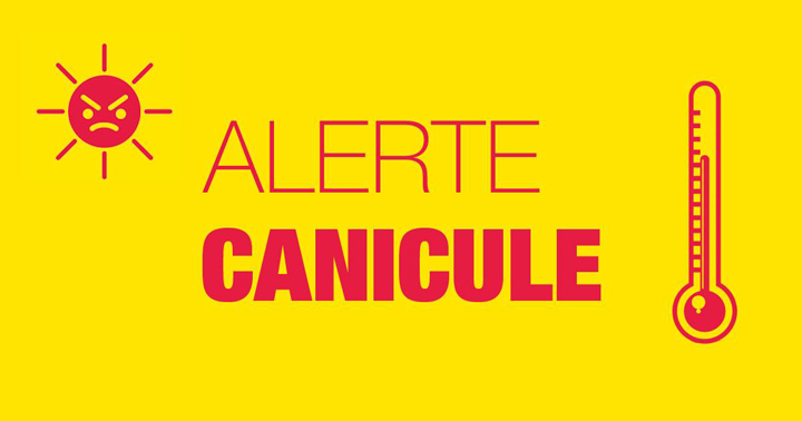 ATTENTION : Nouvel épisode caniculaire